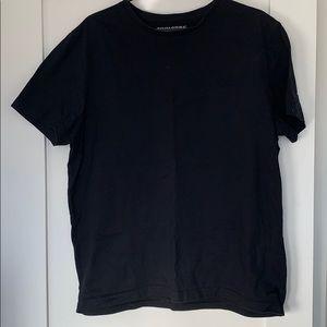 Banana Republic black tee shirt